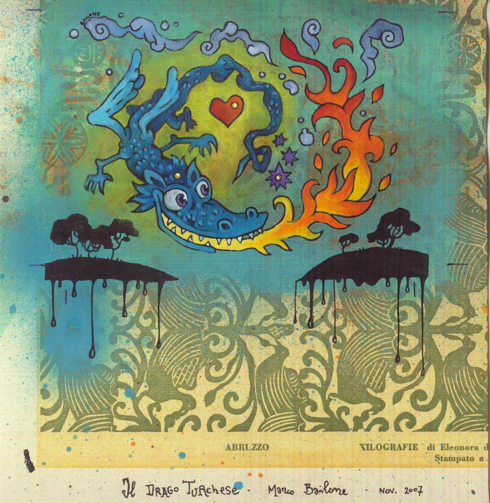 Il drago turchese - Marco Bailone